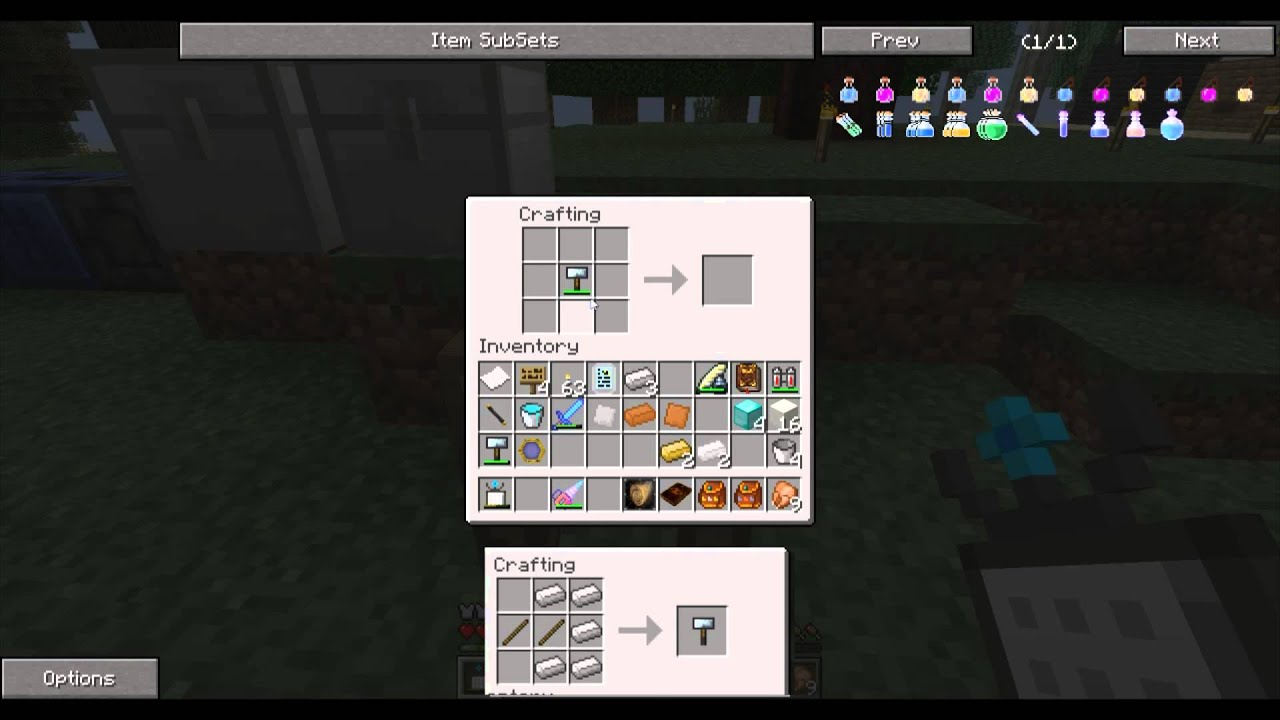 How to make a plate in Minecraft 8