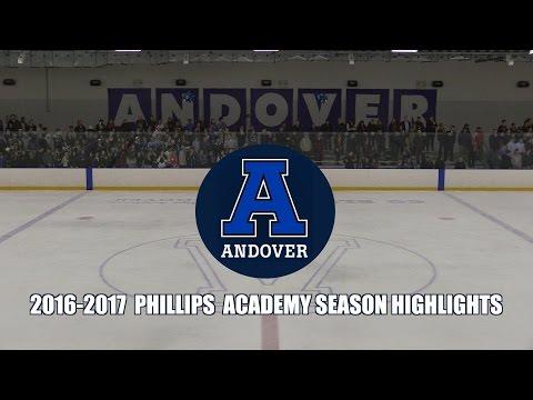 2016 2017 Phillips Academy Andover Hockey Season Highlights