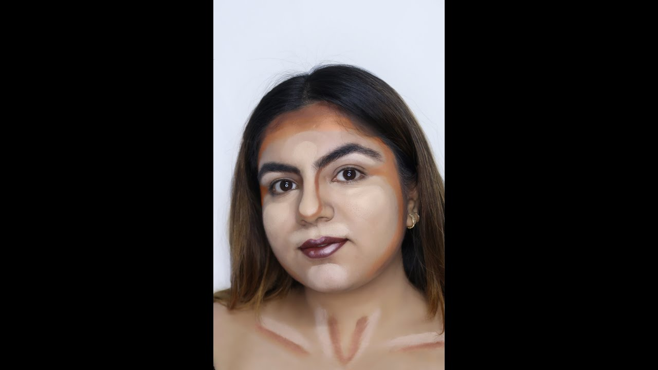 Contour and Highlight  look | makeupbyzeel |
