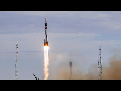 Denmark's first astronaut blasts off into space on Russian Soyuz rocket