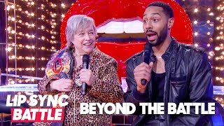Kathy Bates & Tone Bell Go Beyond the Battle | Lip Sync Battle
