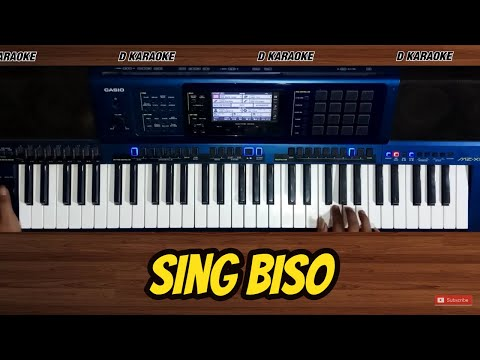 SING BISO (Nella Kharisma) versi karaoke Casio Mzx 500