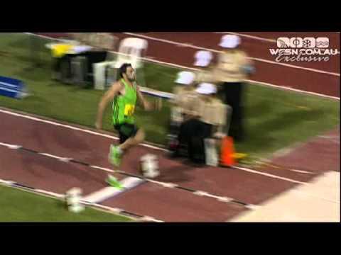 Mens Long Jump - Perth - Australian Athletics Tour Finals 2011