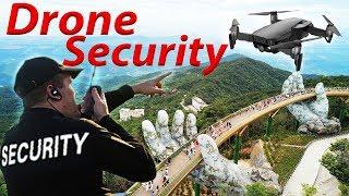 SECURITY PROBEERT DRONE AF TE PAKKEN!