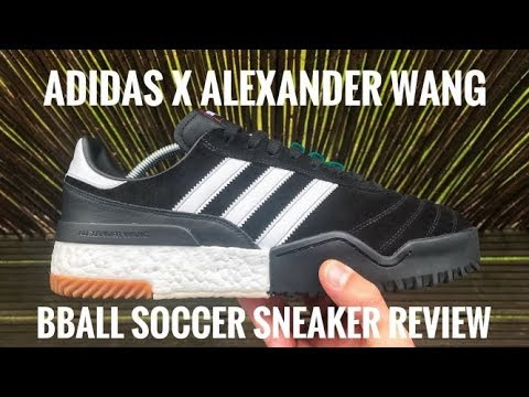 d0196587a4fe Adidas Original x Alexander Wang BBall Soccer Review - YouTube