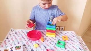 Обзор самой популярной развивающей Игрушки. Пирамидка