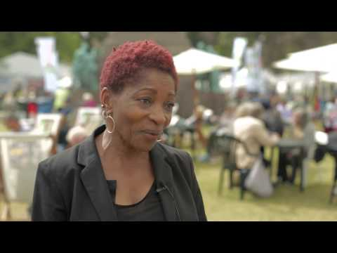 Interview with Bonnie Greer at the Edinburgh International Book Festival