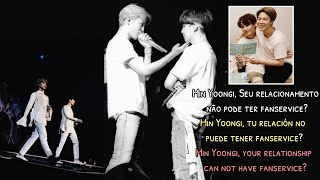 Yoonmin (Análise|Análisis|Analysis) LYS Tour - Min Yoongi, your relationship can not fanservice?