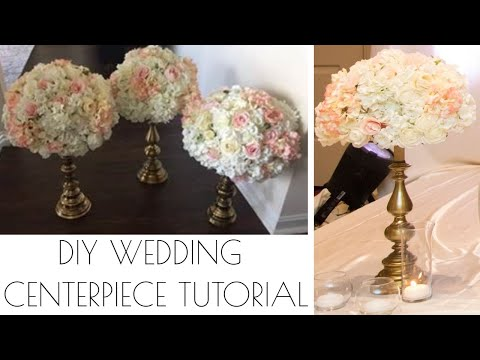DIY Wedding centerpiece tutorial - Wedding decor