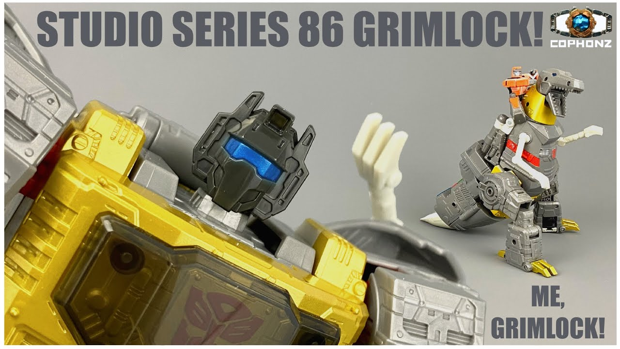 No Words Review of Studio Series 86 Grimlock by cophonz
