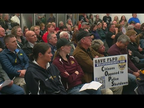 Forest Lake Residents Speak Out Against Disbanding Of Police Department