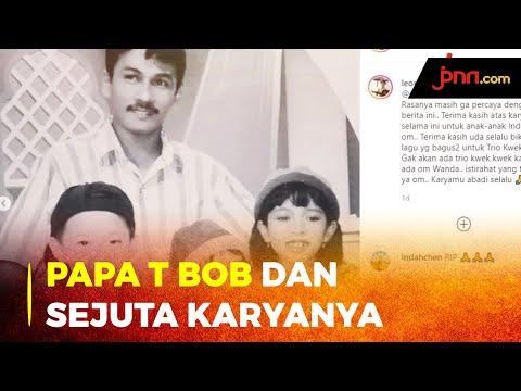 Leony Syok Berat Papa T Bob Meninggal Dunia