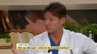 Doktorn svarar på frågor om hypokondri - Nyhetsmorgon (TV4)