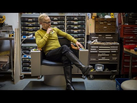 Adam Savage's One Day Builds: Star Trek Captain's Chair