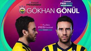 PES 2021 Gökhan GÖNÜL v2 Face Fenerbahçe PES 2020
