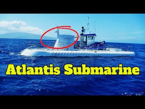 Atlantis Submarine Maui Tour - Maui Submarine Ride Video (GoPro HD)