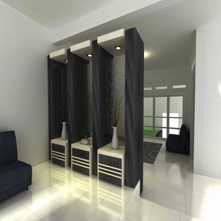 Desain Ruang Tamu Gabung Ruang Keluarga
