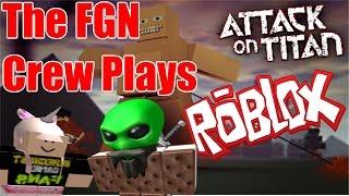 A tripulação FGN execuções: ROBLOX-ataque em Titan Revisited (PC)
