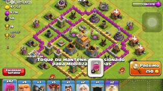 Como ver suas tropas do clã no ataque no clash of clans!!!!!!!