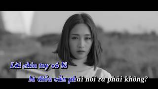 Chẳng Sao Đâu - Việt Athen X San (Official Karaoke) (Tone Nam)