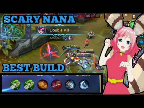 SCARY NANA BUILD | NANA BEST PHYSICAL BUILD | NANA TROLL BUILD | MOBILE LEGENDS NANA