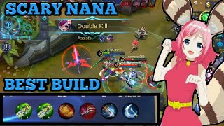 SCARY NANA BUILD | NANA BEST PHYSICAL BUILD | NANA TROLL BUILD | MOBILE LEGENDS NANA