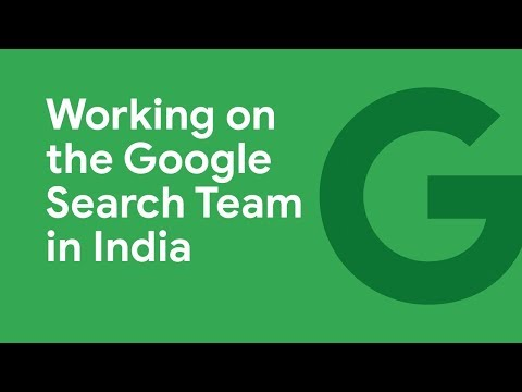 Working on the Google Search Team in India