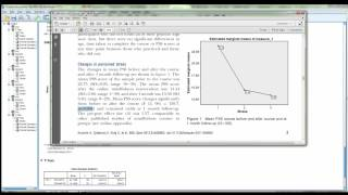 SPSS Paired samples t-test example