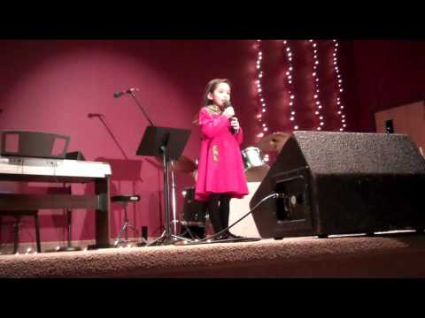 Sofia DaLuz 1st Place Horizon Christian School Talent Show 2012.MP4