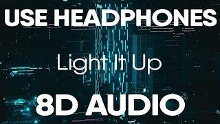 Marshmello Light It Up ft. Tyga & Chris Brown (8D AUDIO)