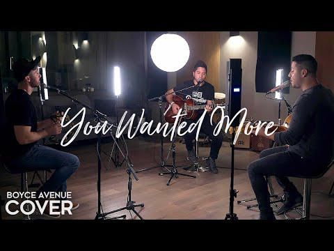 You Wanted More - Tonic (Boyce Avenue acoustic cover) on Spotify & Apple