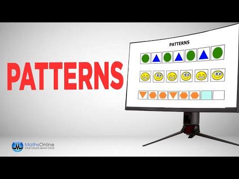 Kindergarten Lessons 2015: Shape Patterns - YouTube