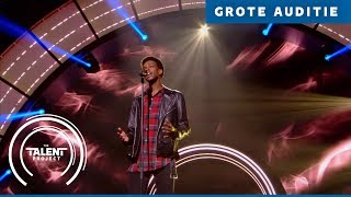 Jay - Say Something | The Talent Project 2018 | Grote auditie