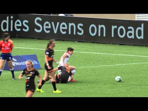 Rugby Canada Women's Sevens – Day 1 Highlights – Amsterdam 7s