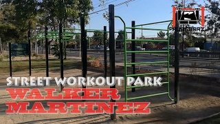 Street Workout Park Walker Martinez - Santiago, Chile - Parque de Calistenia