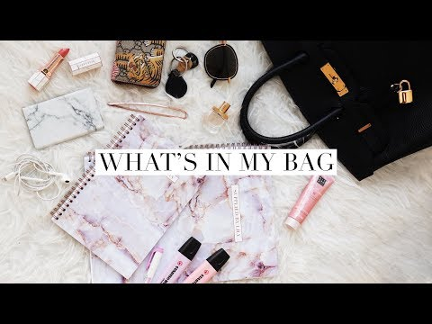 WHAT'S IN MY SCHOOL BAG + GIVEAWAY | Back To Law School/University 2018