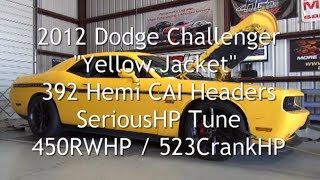 2012 Challenger 392 Stick Headers CAI Tune 450RWHP 523CrankHP
