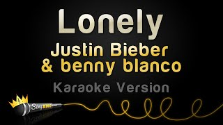 Justin Bieber & benny blanco - Lonely (Karaoke Version)