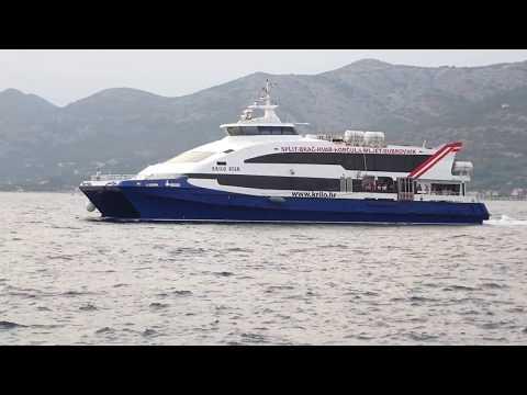 "Passenger Ferry (Catamaran) ""Krilo Star"" in Korčula"