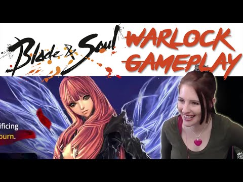 Warlock Gameplay / Beginner's Guide [Blade & Soul Highlights]