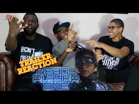 Ready Player One Trailer Reaction!