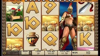 Sparta big win - playtech slot game
