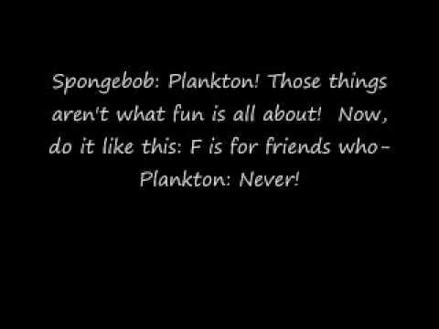 Fun Song By Spongebob Plankton + Lyrics German