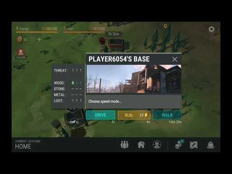 Last day on earth survival , Raid player 6054 base.