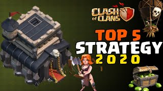 TOWN HALL 9 TOP 5 ATTACK STRATEGY FOR WAR IN CLASH OF CLANS 2020 | TH9 BEST ATTACK STRATEGY