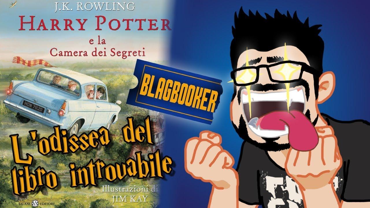 Harry Potter Camera Segreti Illustrato : L odissea del libro introvabile harry potter edizione illustrata