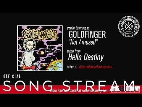 Goldfinger - Not Amused mp3