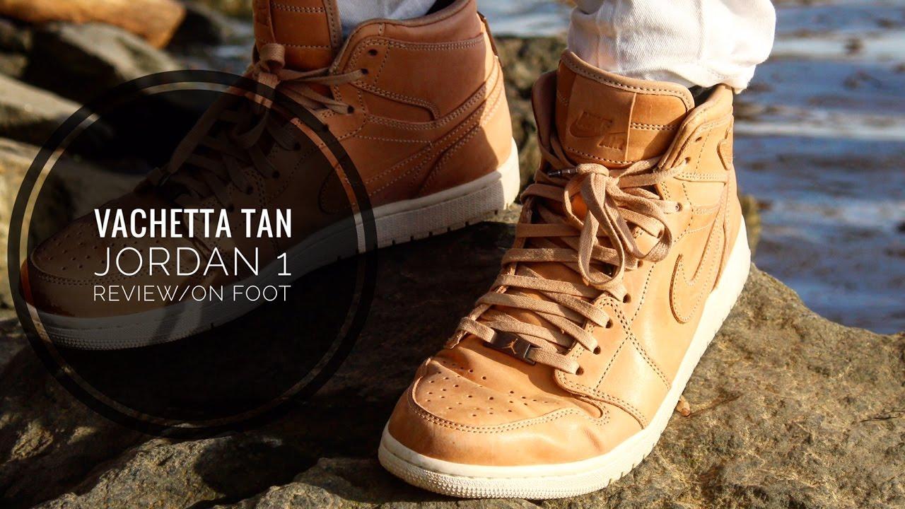 99c297d9f19 Vachetta tan AJ1 (pinnacle) in-depth review and on feet! - YouTube