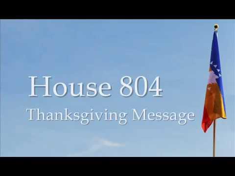The 2018 Presidential Thanksgiving Address