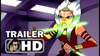 STAR WARS: FORCES OF DESTINY Official Trailer (HD) Disney XD Animated Series